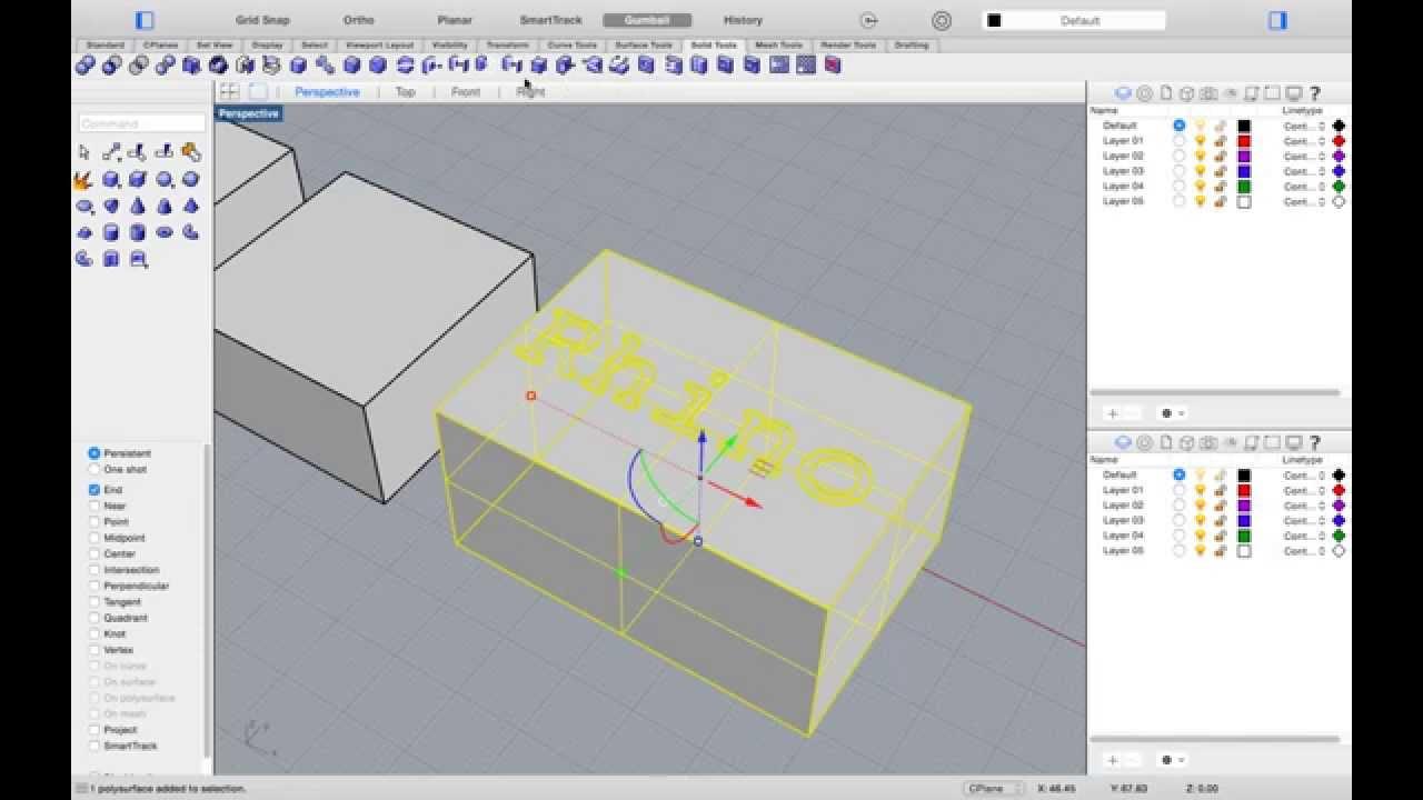 Rhino for mac tutorials getting started series 4 rhino 3d baditri Choice Image