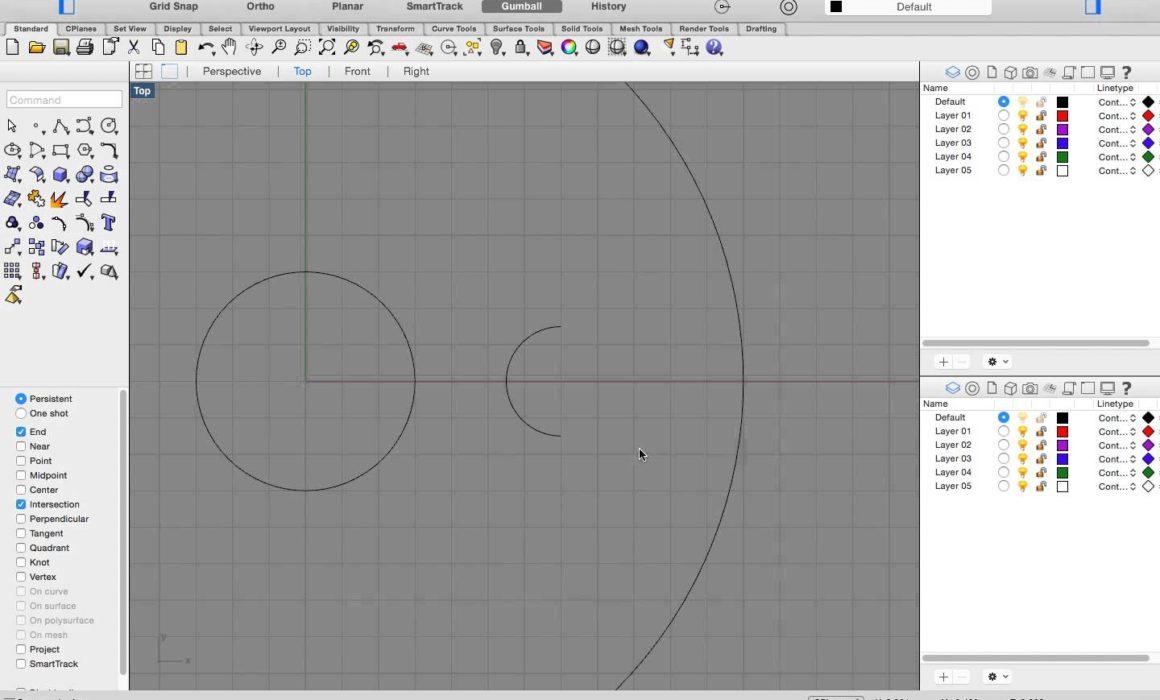 Rhino for Mac Tutorials - Getting Started Series / 5 - Rhino 3D
