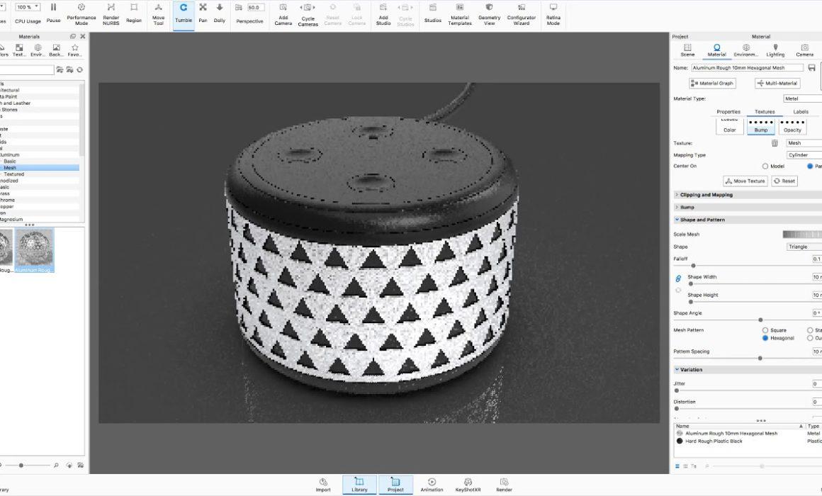 Rhino & KeyShot for Mac Tutorial Screenshot