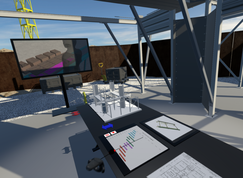 Virtual Reality Scene from the VR team at Bryden Wood