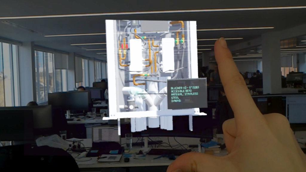 Augmented Reality Screenshot Bryden Wood