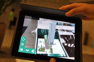 Grimshaw VR Demo on Tablet