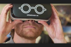 Grimshaw VR Demonstration Shot