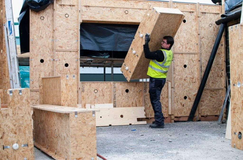 Mass Bespoke Parametically Driven Timber Cassette Construction Units