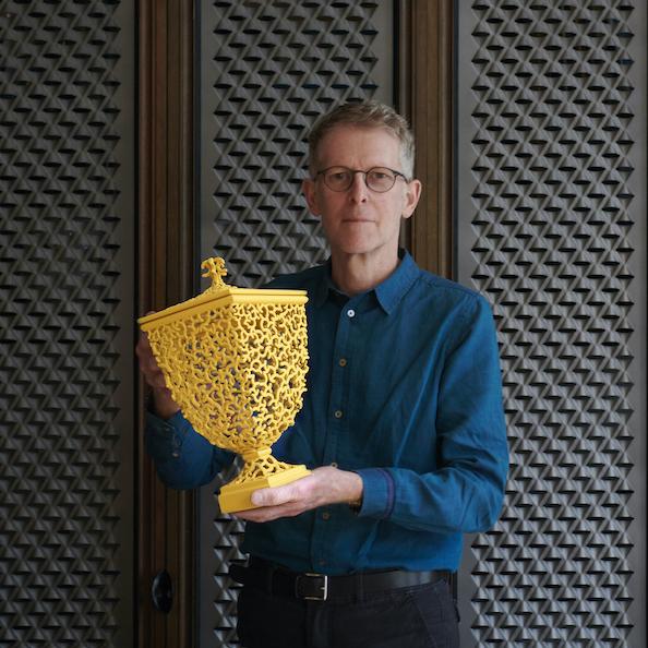 Photo of Ceramic Artist and Maker, Michael Eden
